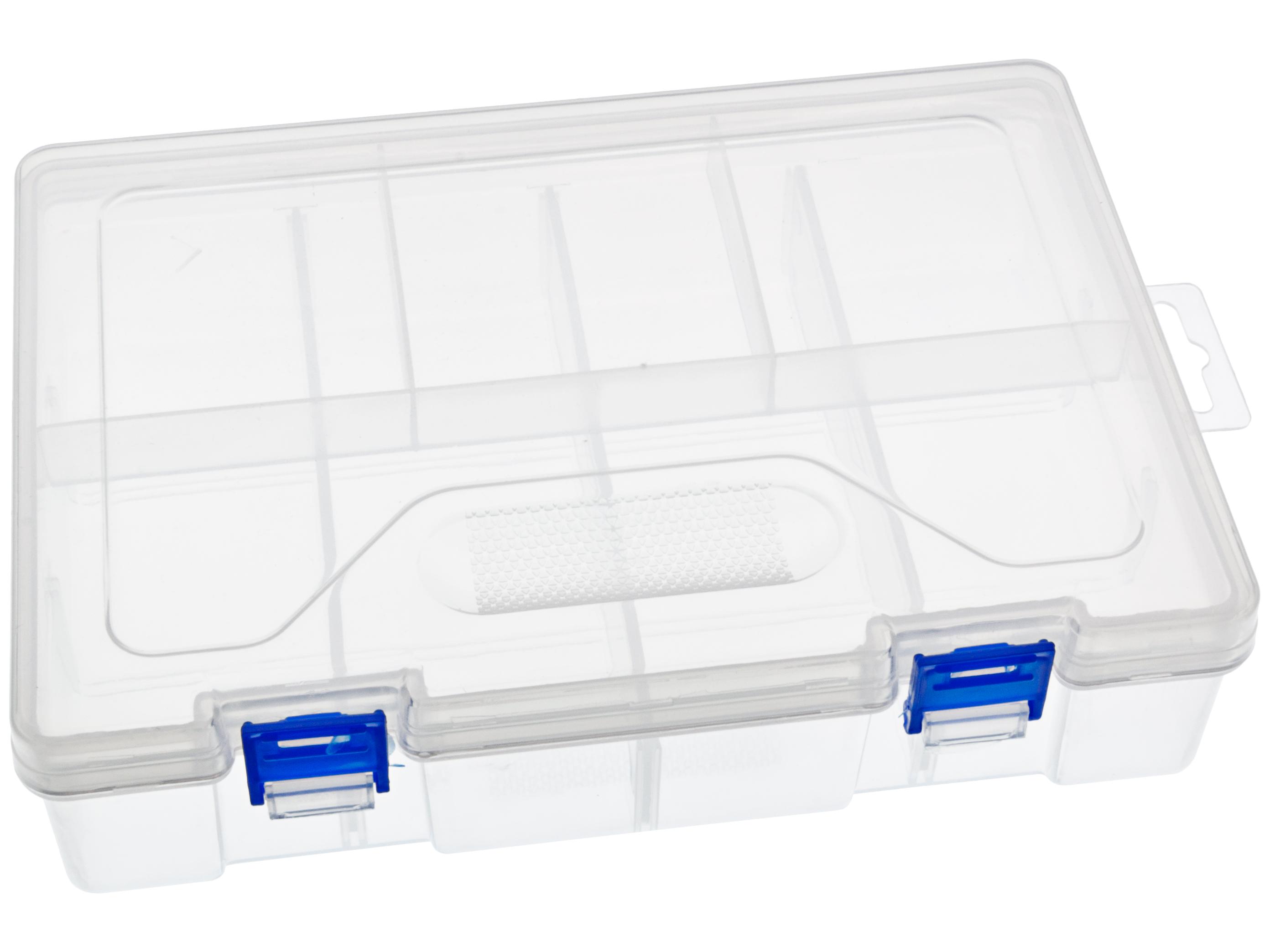 Splitter nya Köp Förvaringslåda 225 x 155 x 60mm 8 fack till rätt pris @ Electrokit NS-73