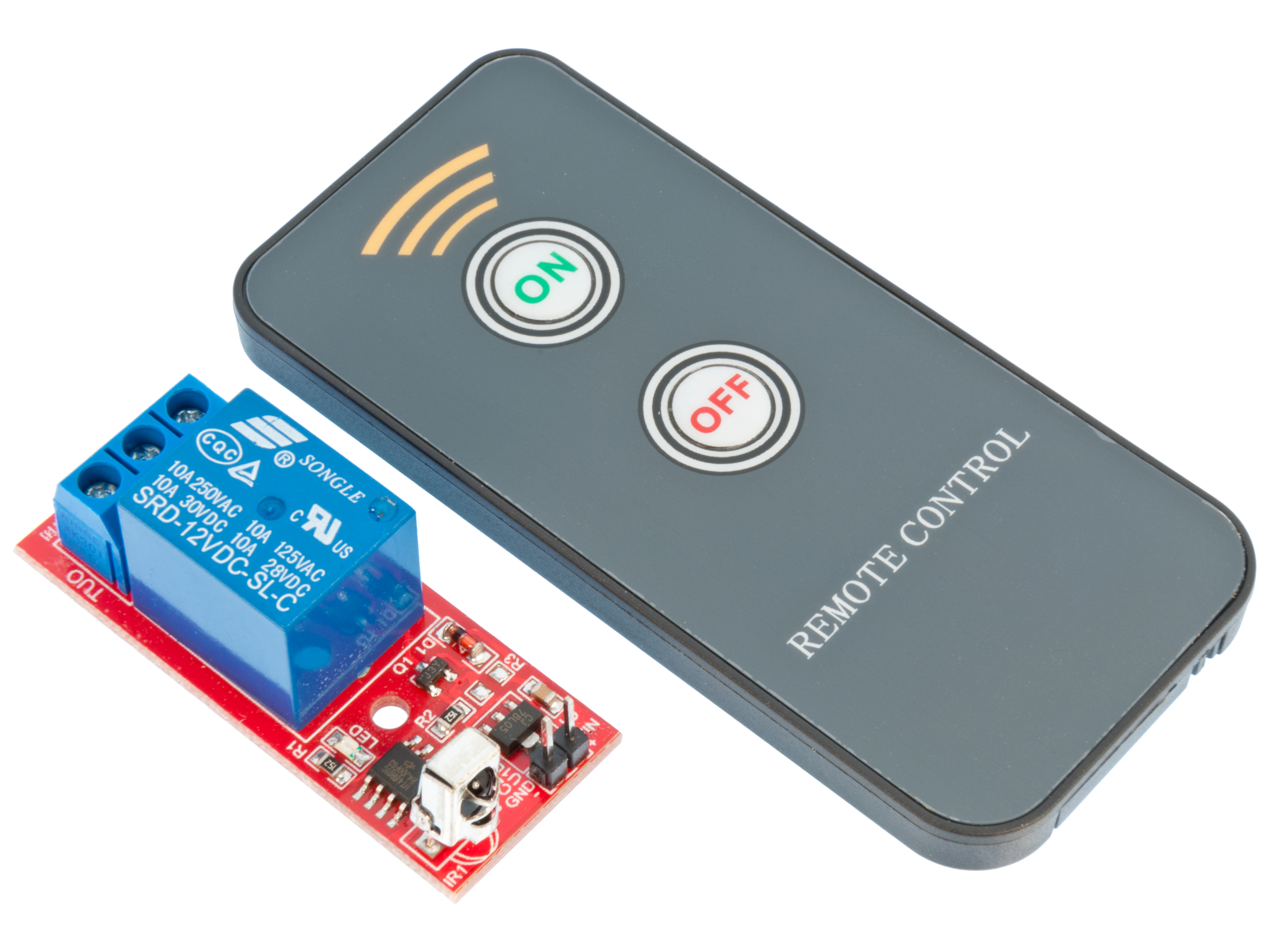 Buy Relay Board 12v With Remote Control Ir At The Right Price Infrared Transmitter Integrated Circuit Home Modules Units
