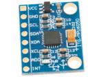 MPU-6050 accelerometer 3-axel monterad på kort