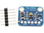 TSL2591 Digital ljussensor monterad på kort