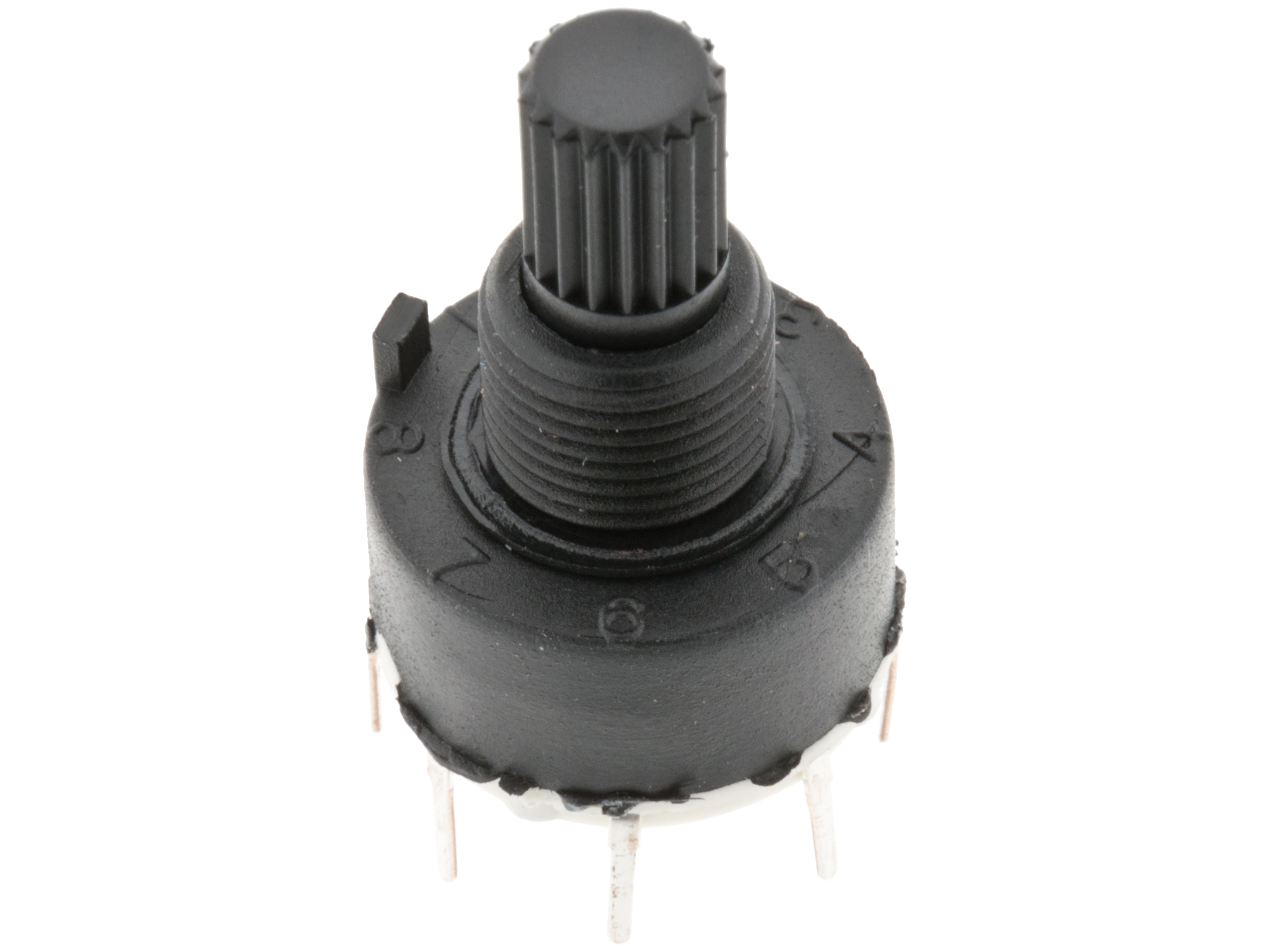 Buy Rotary Switch Mini 1 P 8 Pos Pcb At The Right Price Electrokit Dip Wiring Diagram Home Switches