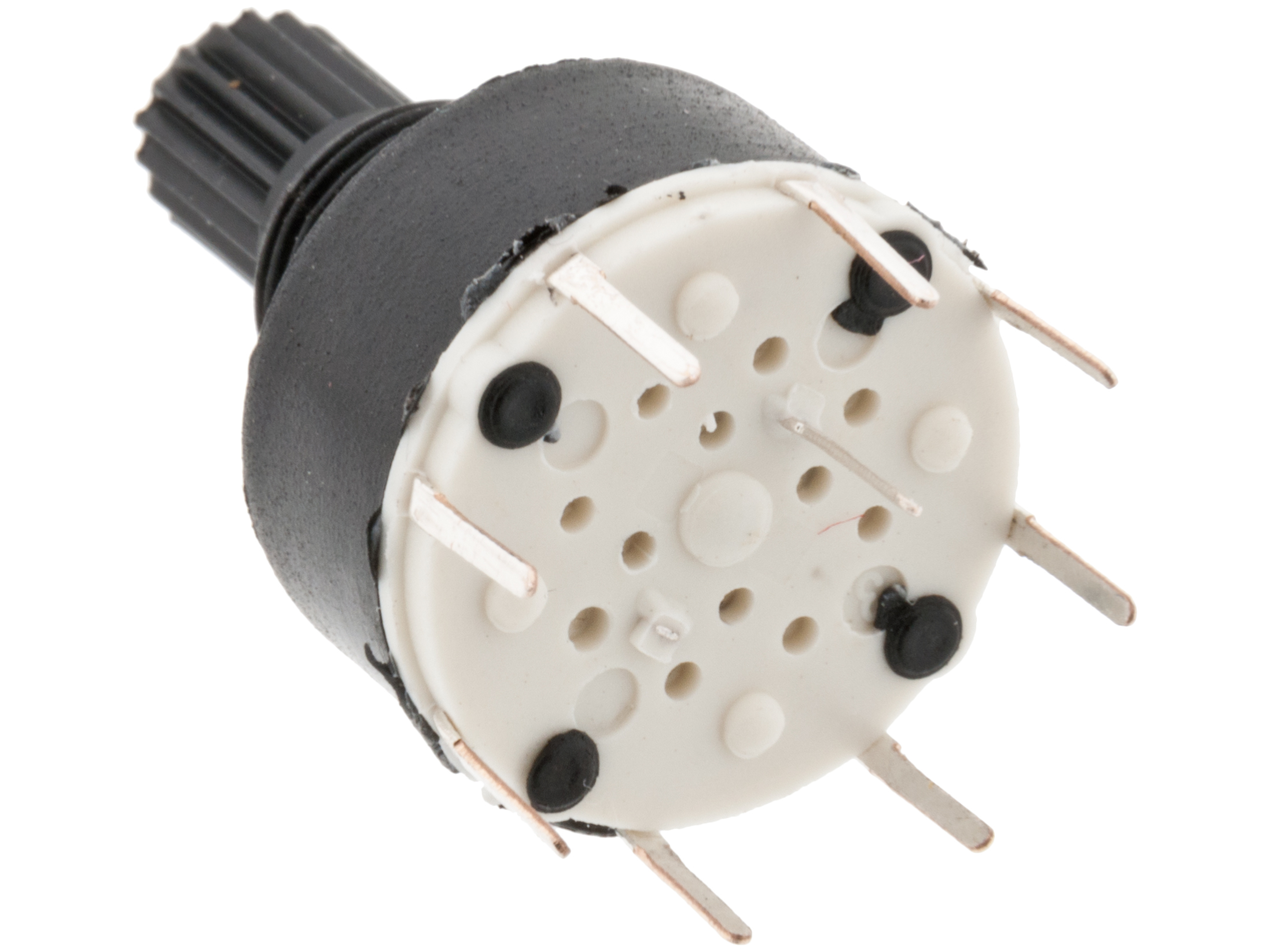 Buy Rotary Switch Mini 1 P 8 Pos Pcb At The Right Price Electrokit Dip Wiring Diagram