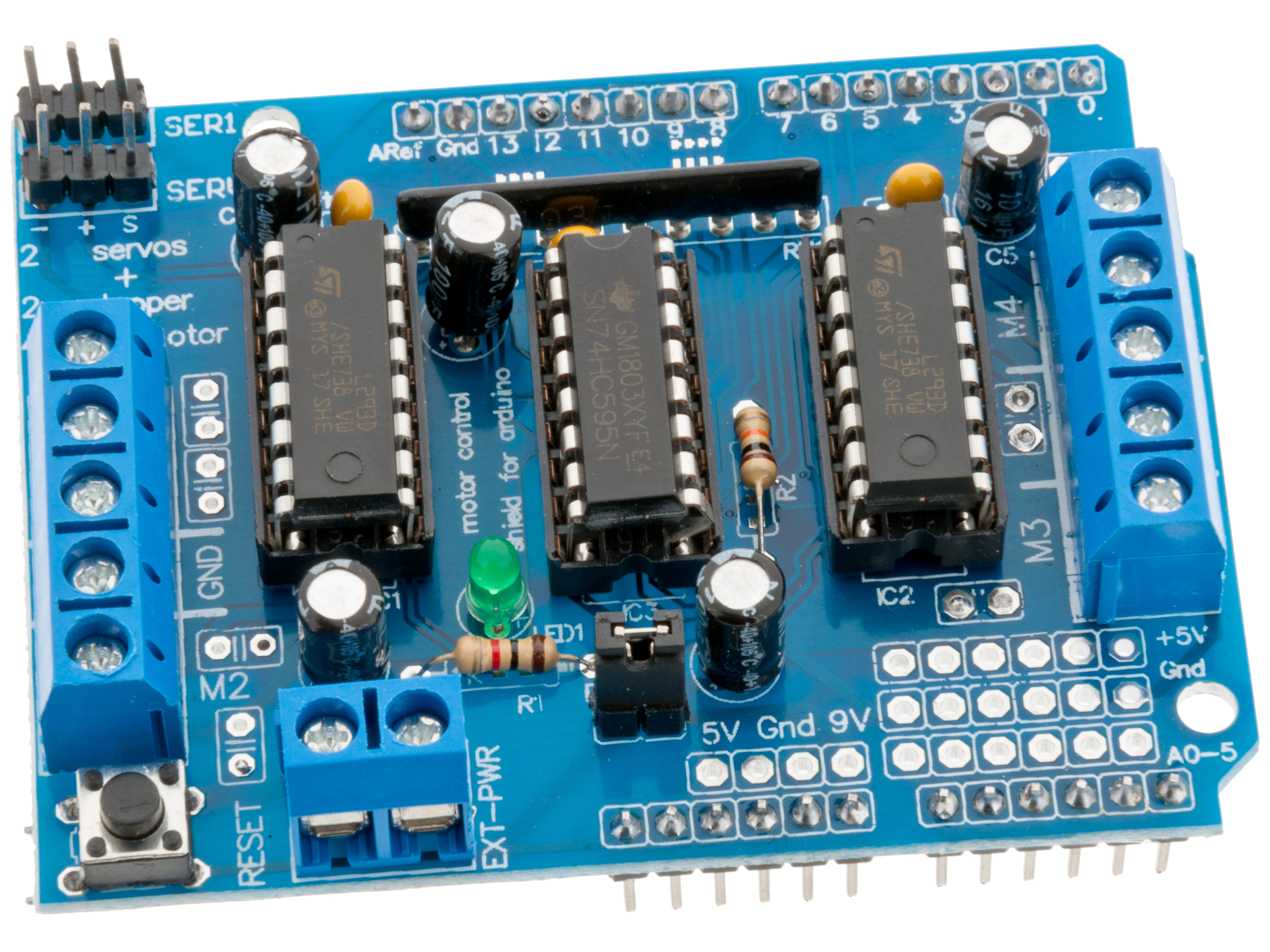 ansluta DC-motor till Arduino