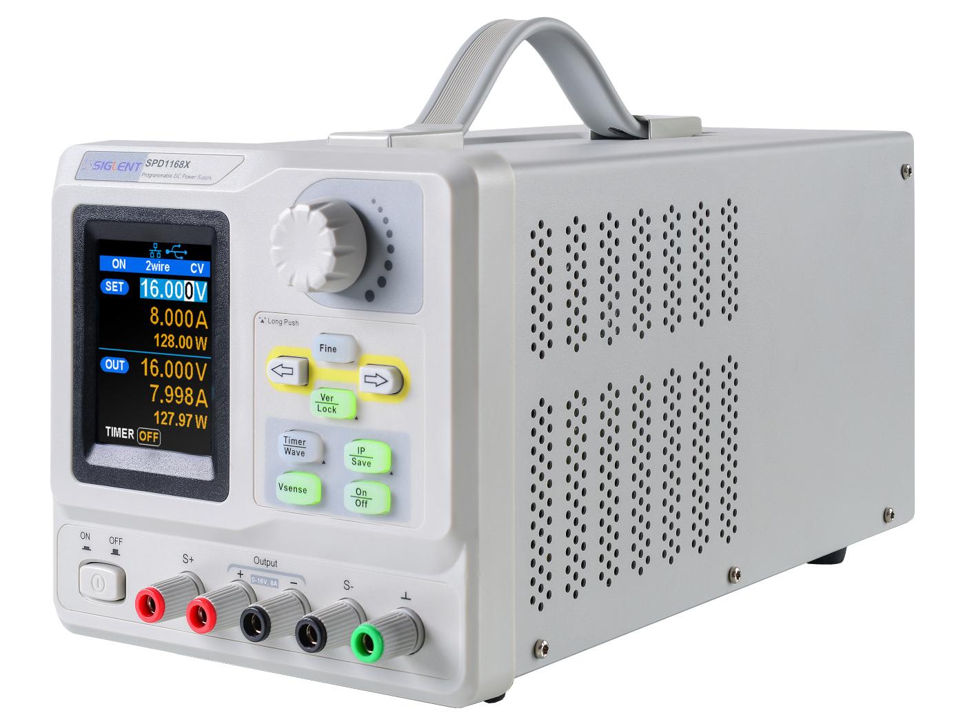 Power supply Siglent 1x 0-16V 0-8A SPD1168X