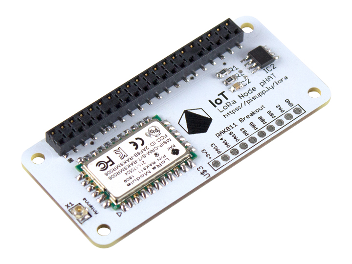 LoRa IoT node pHAT