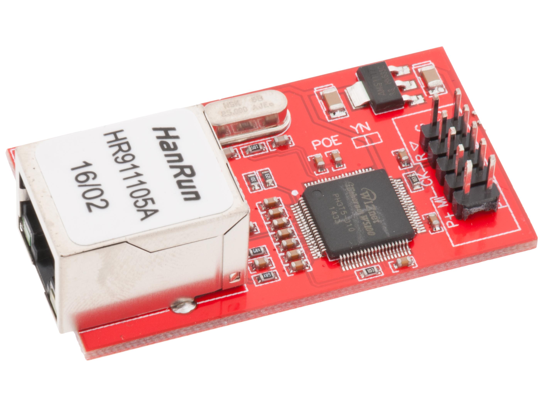 W5100 Ethernet module SPI